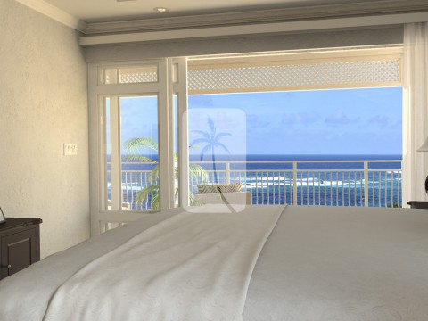 Crane Private Residences, 2 Bedroom - Master bedroom