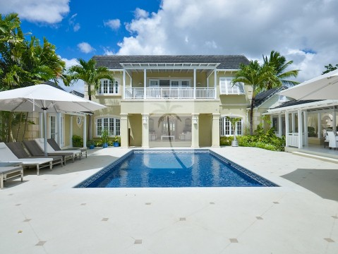 Day time shot of this magnificent two storey, 5 bedroom villa